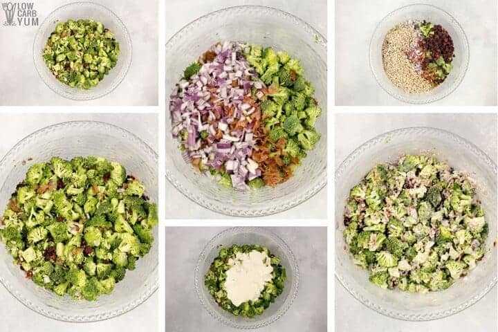Cómo hacer que una ensalada de brócoli dulce con bajo contenido de carbohidratos keto sea suprema