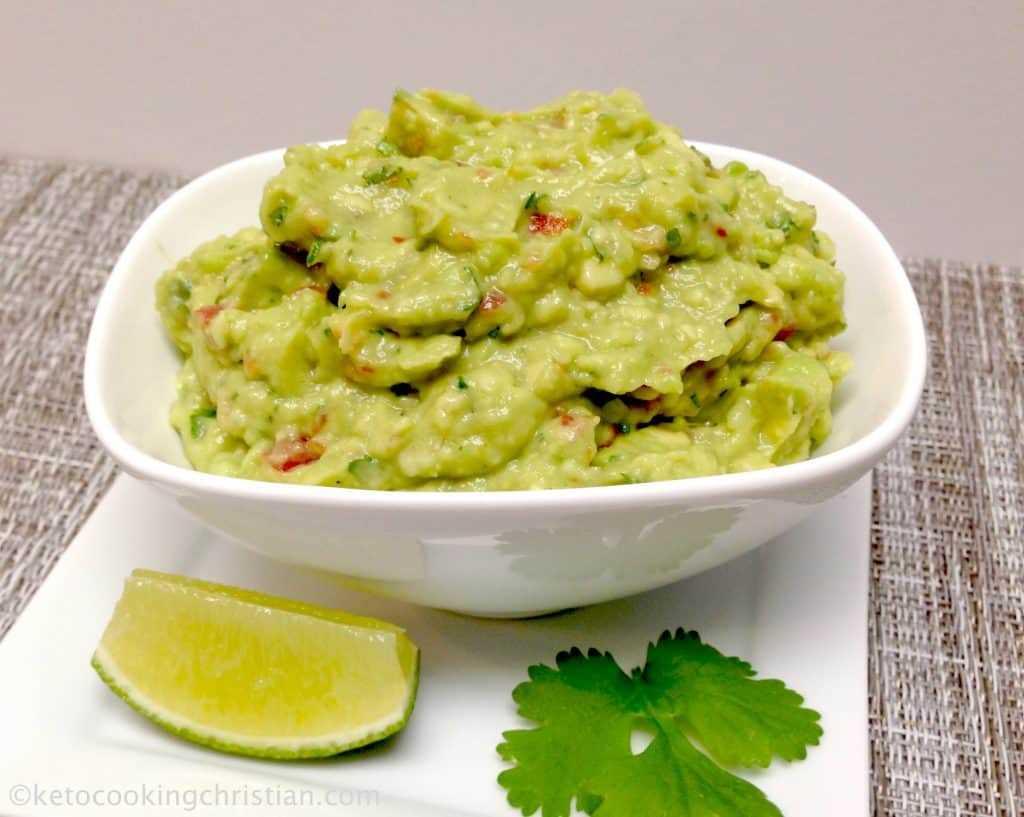 Guacamole fácil - Keto y bajo en carbohidratos