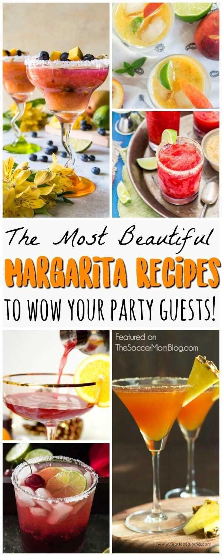 Magníficas recetas gourmet de margarita que rivalizan con lo que encontrarías en un elegante restaurante, ¡y puedes prepararlas todas en casa! ¡Sorprende a tus invitados a la fiesta!