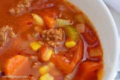 3 recetas de sopas saludables. 1 día, 12 comidas congeladas