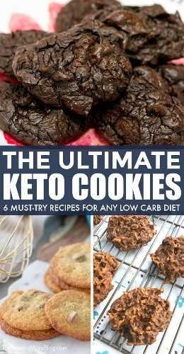¡Tienes que probarlos para creerlos! Estas son las MEJORES recetas de galletas keto: ¡6 galletas keto fáciles de probar para cualquier persona con una dieta baja en carbohidratos!