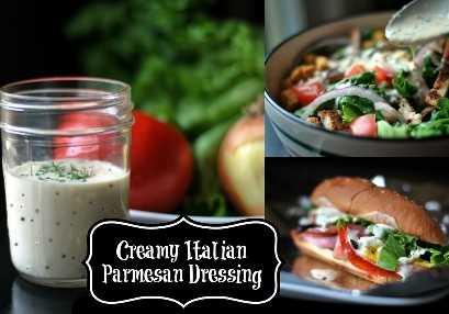Aderezo cremoso de parmesano italiano | Recetas Latinas!