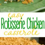 easy-broiler-chicken-casserole-collage em uma assadeira