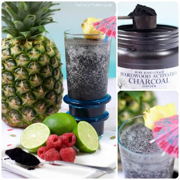 Don't be fooled by the jet black color, this Charcoal Detox Smoothie is absolutely delicious and brimming with tropical fruit flavors and healthy ingredients!