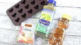 Ingredientes de lanche gomosos caseiros