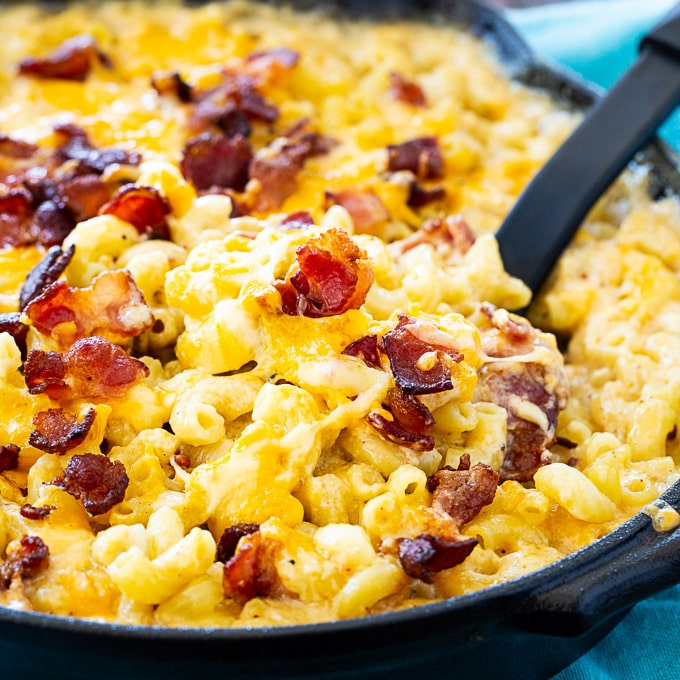 Bourbon and Bacon Mac and Cheese