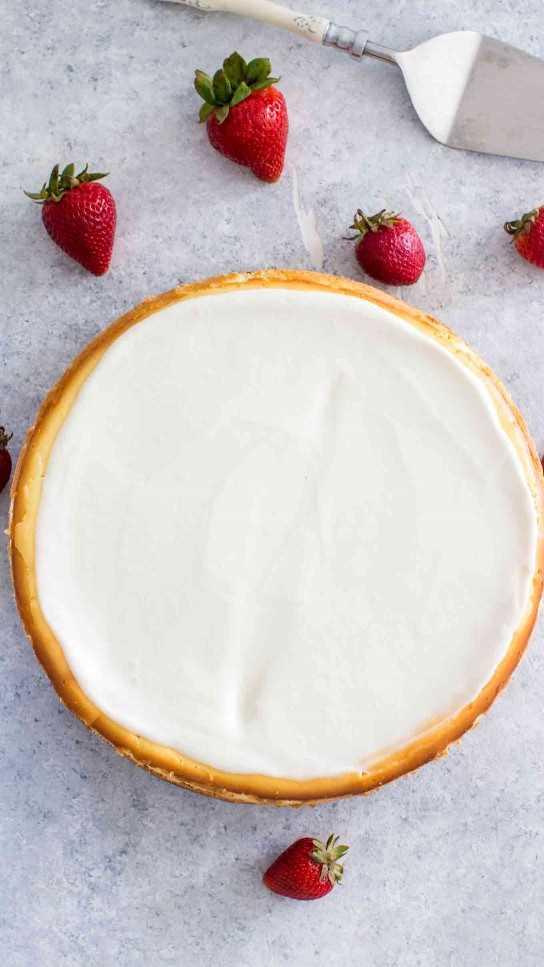 Cheesecake Factory Original Cheesecake Copycat Receta