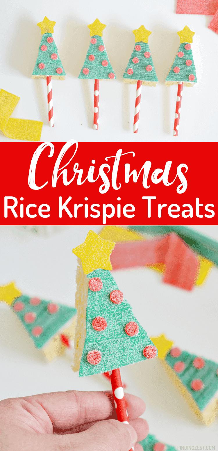 Procurando maneiras de fazer sua mesa de presente de feriado brilhar? Experimente estas delícias de arroz da árvore de Natal Krispie. Pare de assar e concentre-se em decorar com esta divertida atividade de arte de comida natalícia com Sour Power Candy!