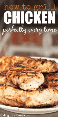 cómo asar pechuga de pollo