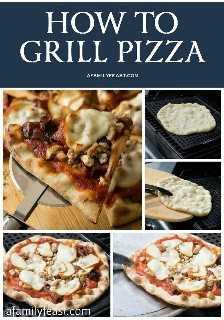 Como grelhar pizza