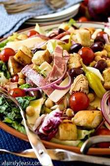 Ensalada Antipasto - Una Fiesta Familiar