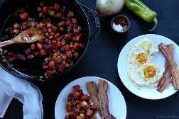 ¡Este hash de camote es tan bueno! Perfecto para el desayuno. Sin gluten, paleo, vegano vegetariano.