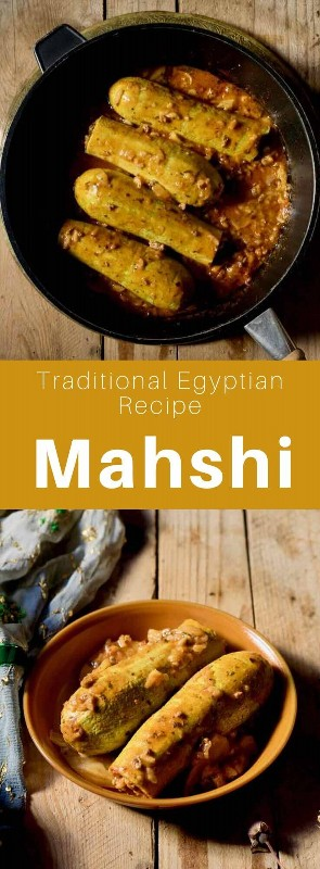 Mahshi é um prato de legumes recheado com arroz e carne, um prato tradicional do antigo Império Otomano, popular nos Balcãs, no Levante e no Egito. # Egito # Culinária egípcia # Comida egípcia # Receita egípcia # Culinária mundial # 196 sabores