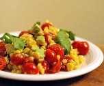 Salada de Milho e Abacate | Receitas latinas!