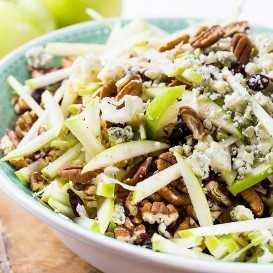 Apple, Maple, and Pecan Salad