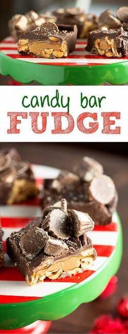 Fudge da barra de chocolate - tão fácil nenhum termômetro necessário!