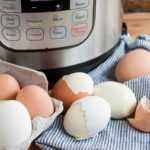 Huevos duros instantáneos fáciles de pelar