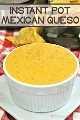 ¡Instant Pot Mexican Queso es perfecto para el día del juego o tu próxima fiesta! ¡A todos les encantará esta salsa cursi llena de carne de res, chiles y tomates sazonados!