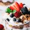La mejor receta de parfait de yogur con granola