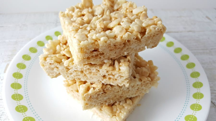 Krispie Rice Sticky Treats