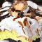 Lasaña de postre con huevo y crema de Cadbury
