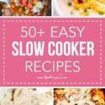 Más de 50 deliciosas recetas de olla de cocción lenta