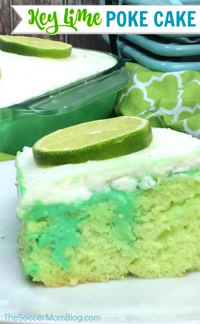 Un nuevo giro en un clásico de verano: ¡este pastel de lima te hará soñar con días soleados y olas oceánicas! ¡Un postre fácil con limón picante en cada bocado!