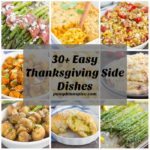 Más de 30 platos laterales fáciles de acción de gracias