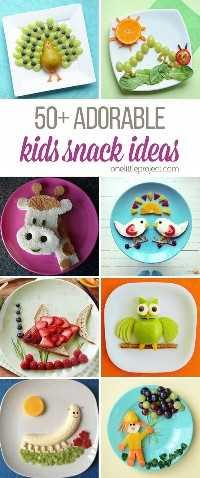 Essas idéias de lanches são ADORÁVEIS! Algumas pessoas são tão inteligentes! Eu nunca teria pensado em todas essas idéias incríveis de arte em alimentos, mas elas são realmente criativas!