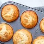 Lemon brown butter muffins
