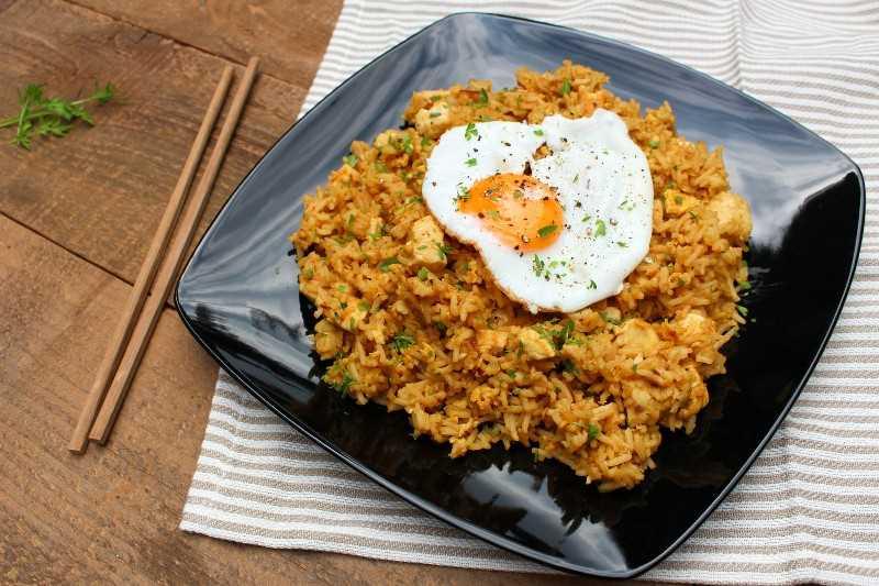 receta de nasi goreng