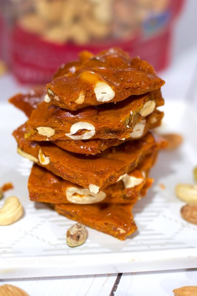 ¡Derretir en tu boca nueces caseras y dulces de miel es la combinación perfecta de dulce y salado!