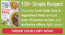 ceto de 5 ingredientes con bajo contenido de carbohidratos