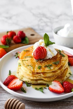 Panqueques japoneses (Hot Cakes - ホ ッ ​​ト ケ ー キ)