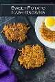 Receita de croquetes de batata doce, café da manhã #patata #brunch