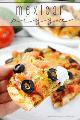 Pessoa com fatia de pizza mexicana