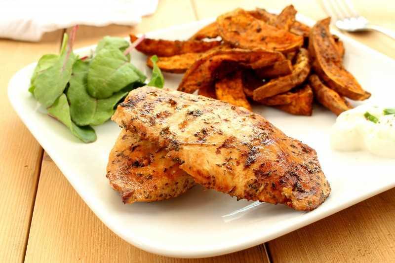 receita de frango com alho duro