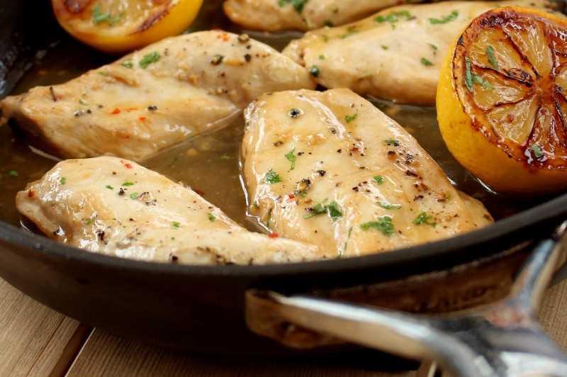 Receta Sorrento Lemon Chicken