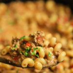 Receta Crock Pot Hamburger Helper