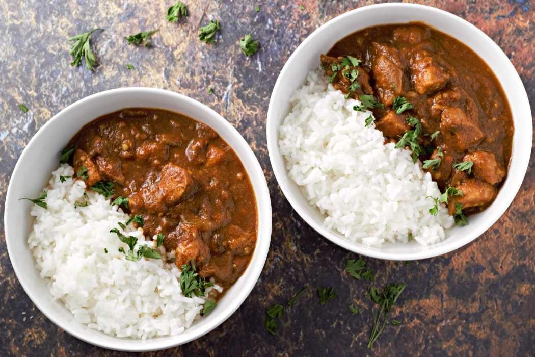 Receta Tikka Masala de pollo a la olla de cocción lenta