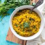 Receta de arroz con cúrcuma