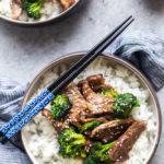 Receta de carne de res y brócoli