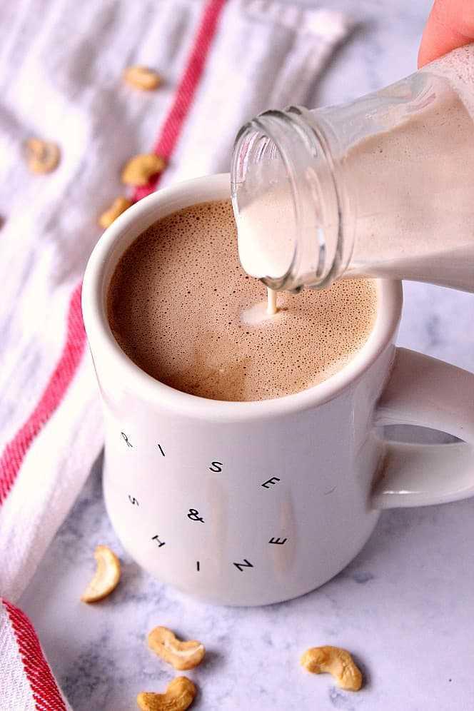 Receita de creme de café com caju vegan 1 Receita de creme de café com caju (Vegan)