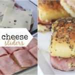 Receta de deslizadores de jamón y queso hawaiano