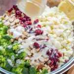 Receta de ensalada cremosa de brócoli (VIDEO)