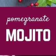 Este mojito de romã é festivo o suficiente para as férias, mas delicioso o suficiente para beber o ano todo! Obtenha a receita divertida de coquetel em RachelCooks.com!