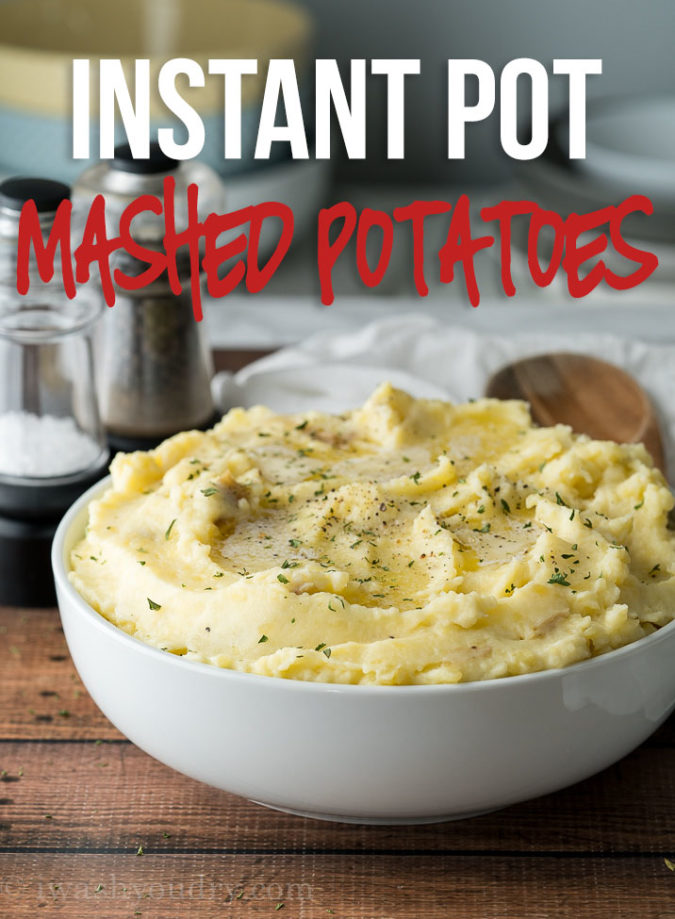 Esta receita instantânea de purê de batatas é um enfeite rápido e fácil, pronto em uma fração do tempo!