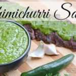 Receta fácil de salsa de chimichurri