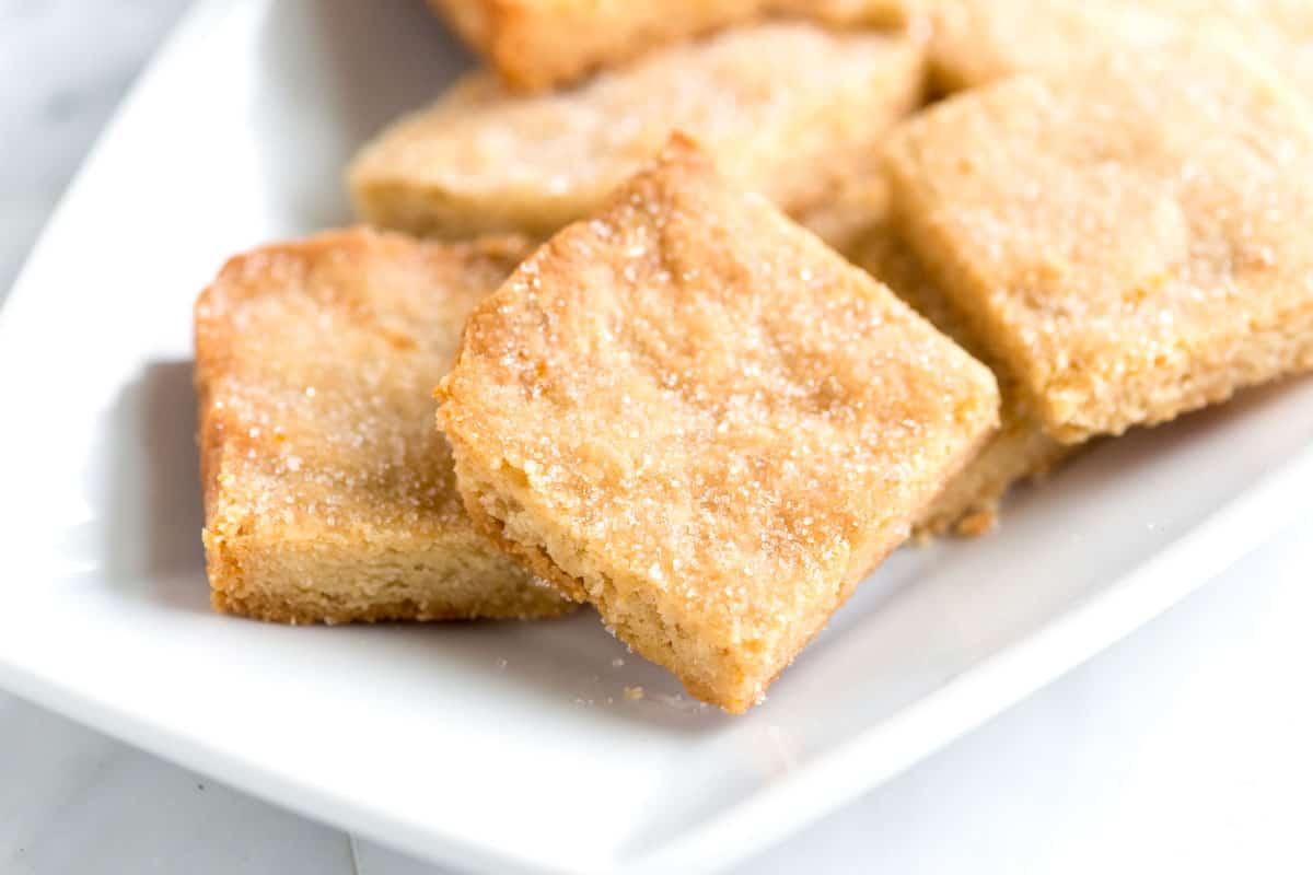 Receta de galletas de mantequilla de mantequilla