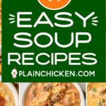Recetas fáciles de sopa para el otoño